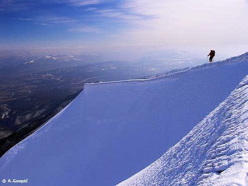 Sveto Brdo - eastern ridge