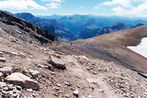 Last 200 meters to the summit
