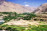 The Panjshir Valley, Afghanistan