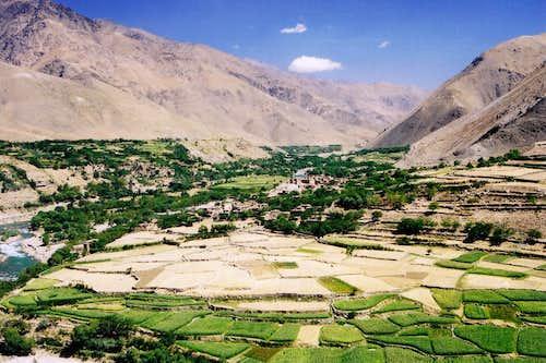 The Panjshir Valley, Afghanistan