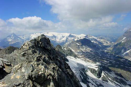 Summit of Pte de la Sana 3436m