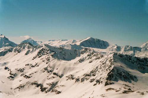 Pointe de la Sana 3436m