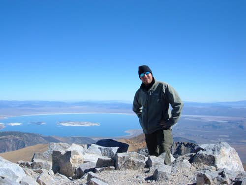 Summit of Mt Dana