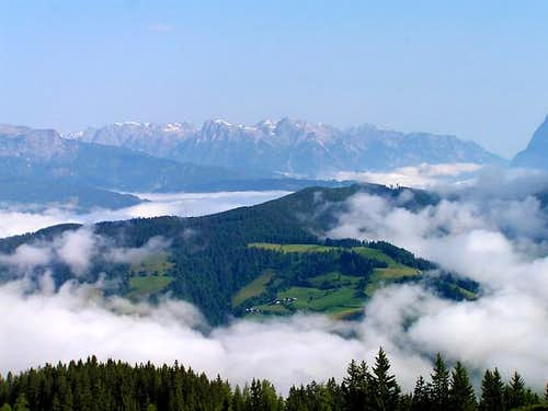 Hagengebirge from south