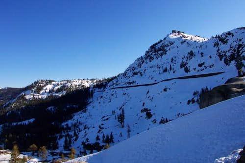 Donner Peak, January 2003.