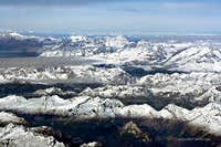 Balmhorn and Bietschhorn from Ticino