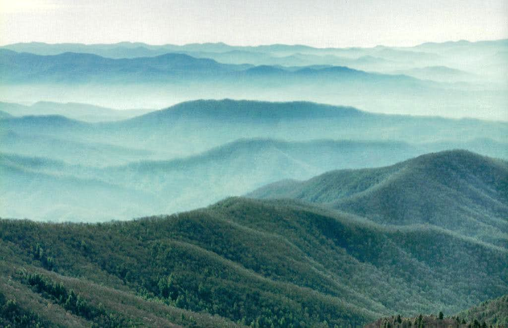 Smoky Mtns. from Clingmans Dome
