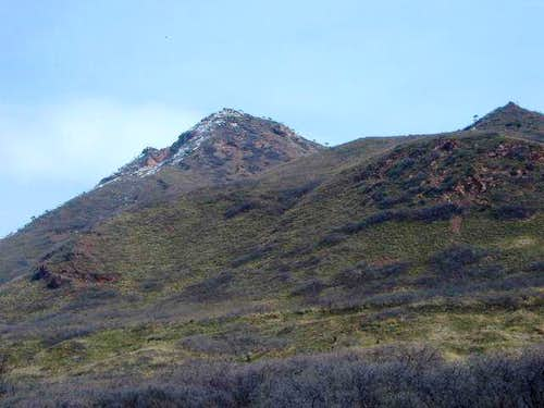 Red Butte and the ridge