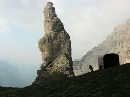 From Bivacco Perugini to the Campanile