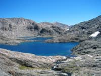 Lake 11,818 at the West End of the Ionian Basin