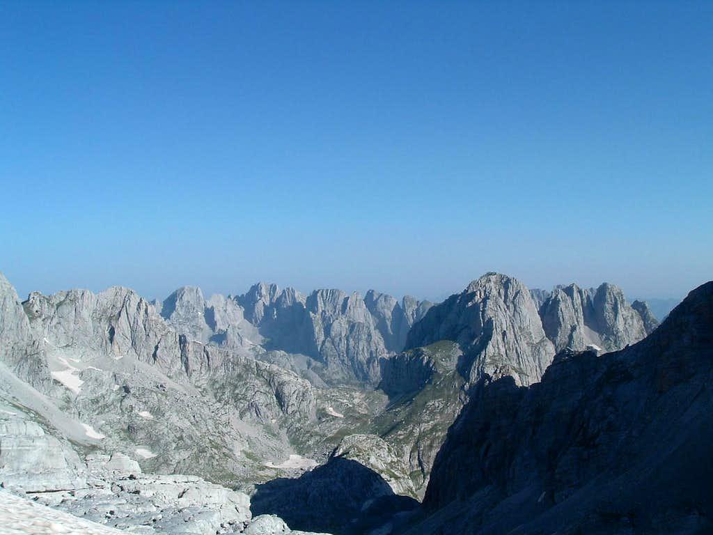 View on upper Ropojana