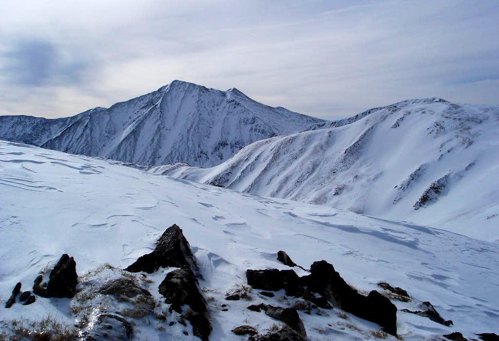 Views to south from Mt. Sniktau ridge