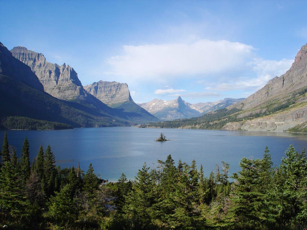 St. Marys Lake in Glacier National Park