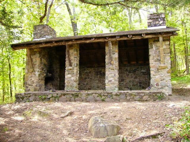 Mudlick Mountain CCC Shelters