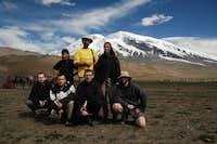 Our Muztagata team