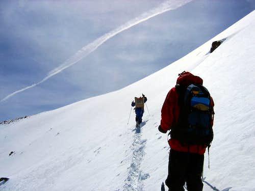 The Swansons' 33rd Kings Peak Ski Run