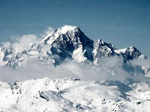 Italian side of Mont-Blanc...