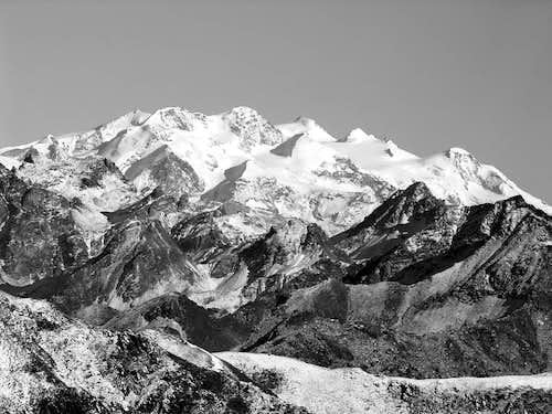 Monte Rosa range