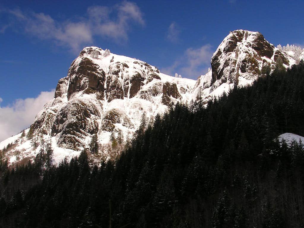 Snowy Saddle