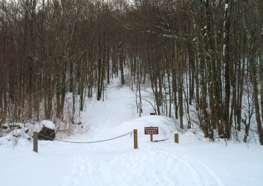 Elk Knob summit trailhead