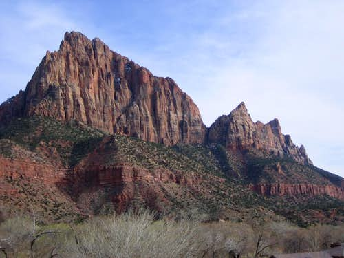 The Watchman and Johnson Mtn