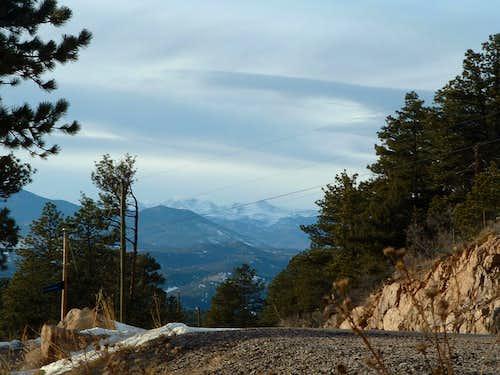 Road To Western Trailhead
