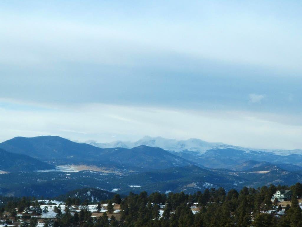 View Of High Country