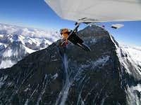 Angelo Flying over the Chomolungma