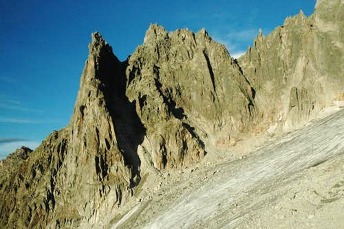 Aiguille de l\'M West Ridge