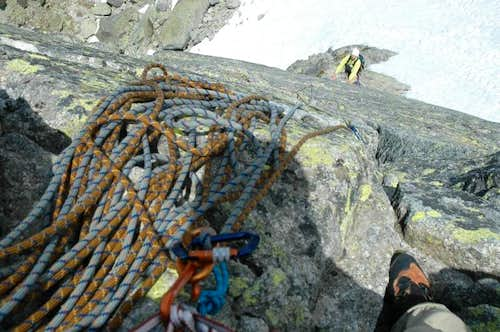 Aiguille de l\'M North-North-East Ridge