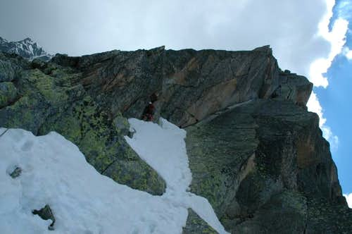 Aiguille de l'M North-North-East Ridge