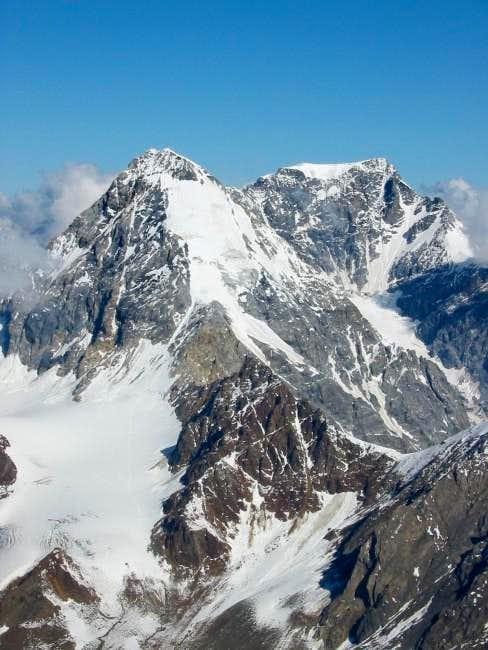 Konig Spitze from top of...