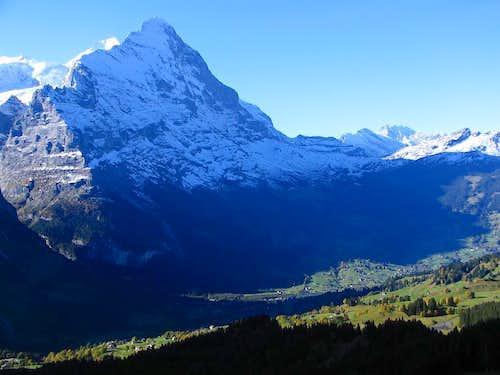 NF of Eiger & Grindelwald below