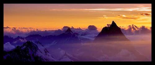 Matterhorn, Italian side