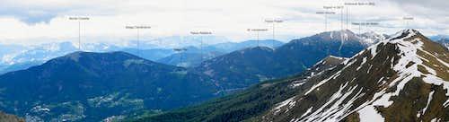 View of Dosso di Costalta