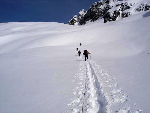 Roped Glacier Travel