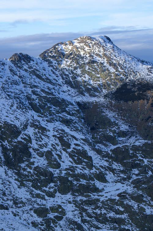 Cabeza Nevada from the summit of Morezón