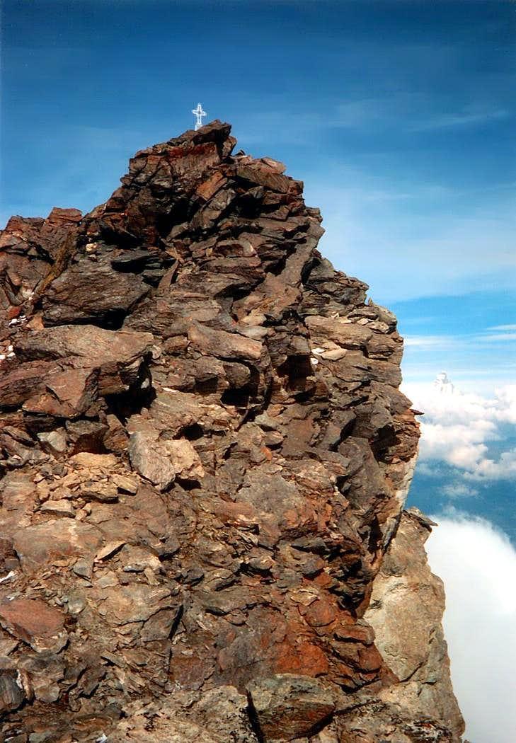Punta  Ilario Antonio Garzotto (3274 m)