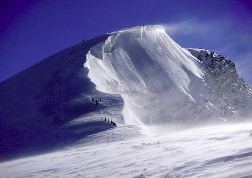 Weissmies summit