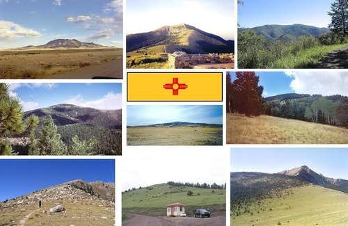 New Mexico County Highpoints