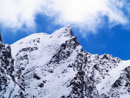 North side of  Mont Labiez (2601 m)