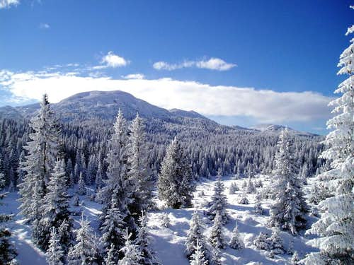 Winter on Vran