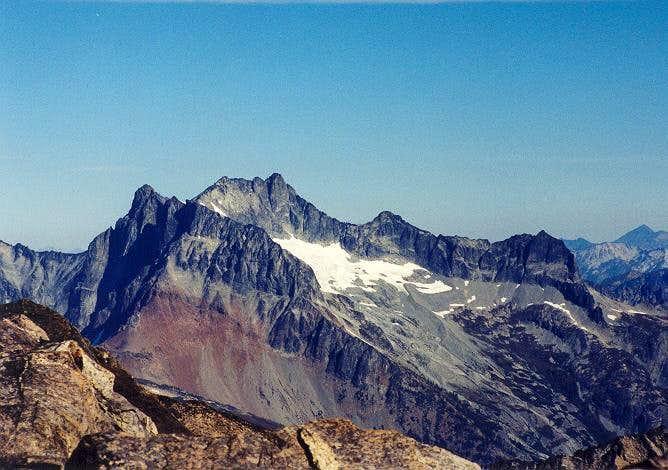 Bonanza Peak as seen from the...
