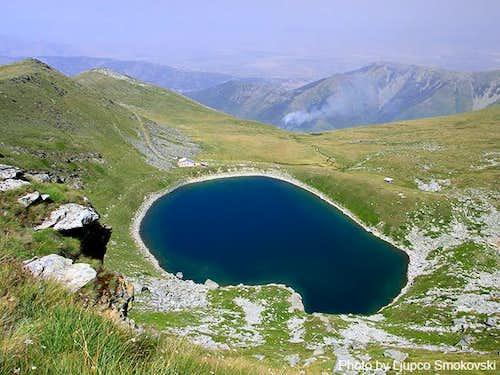 Glacial lake Big Lake