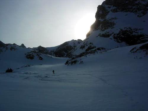 Approaching Apache Peak