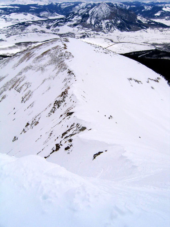 Mount Emmons Eastern Summit