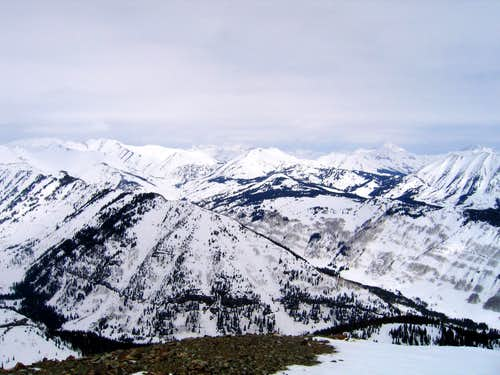 North View from Mount Emmons