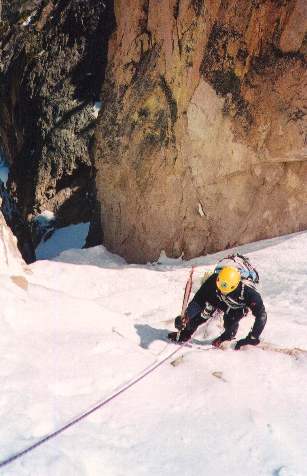 Chockstone Couloir