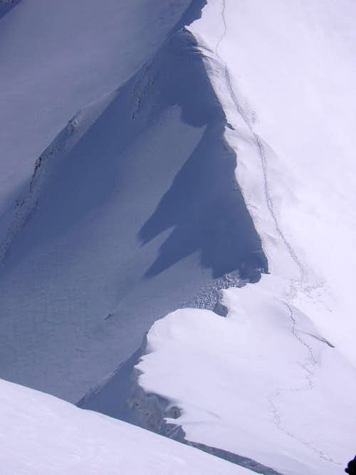 The E-ridge to Pizzo Cefalone