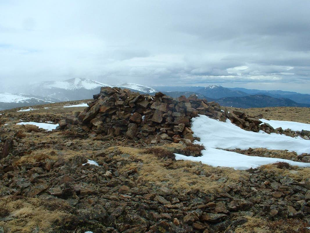 Summit of Niwot Mountain